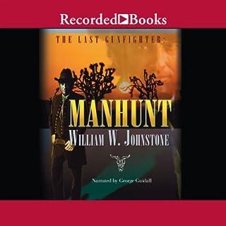 Manhunt audiobook cover art