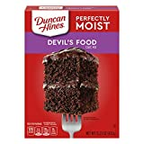 Product of USA. Pack of 3. Classic Devils's Food Deliciously Moist Cake Mix. Directions For Breaking: 1 Cup Water, 1/3 Vegetable Oil, 3 Large Eggs. Contains 2% Or Less Of Food Starch Modified, Salt, Propylene Glycol Mono And Desters Of Fats And Fatty...