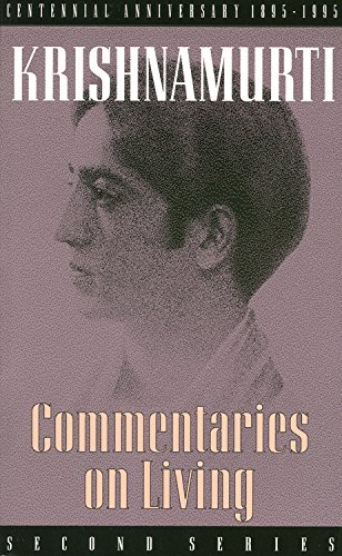 Commentaries on Living: Second Series