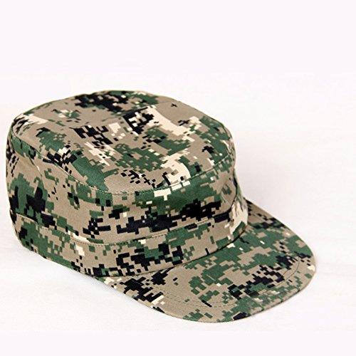 ETbotu Outdoor Gears, Persoonlijke apparatuur - Verstelbare Camouflage Peaked Cap Baseball Cap Zonnescherm Hoed Chic Outdoor Verjaardag Festival Gift