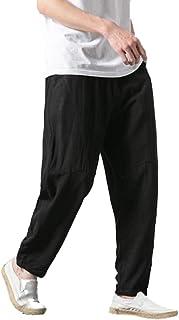 db5172a94 Amazon.es: Pantalones Capri - Negro / Hombre: Ropa