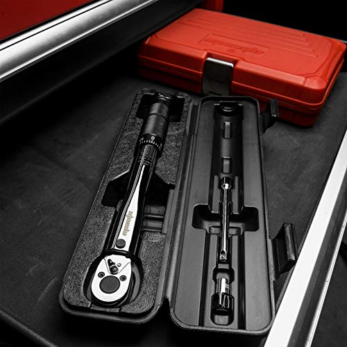 EPAuto 1/4-Inch Drive Click Torque Wrench (20-200 in.-lb. / 2.26 ~ 22.6 Nm)