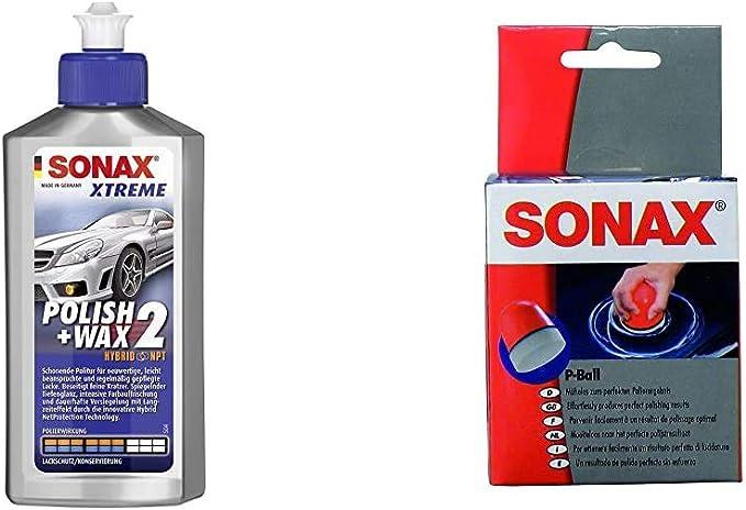 Sonax Xtreme Polish Wax 2 Hybrid Npt 500 Ml Schonende Politur Mit Mittlerer Wirkung Für Regelmäßig Gepflegte Lacke P Ball 1 Stück Mühelos Und Schnell Zum Perfekten Polierergebnis Auto
