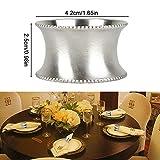 Runde Serviette Ringe für Hochzeit Bankett Dinner Party Hotel Serviette Ringe 6 Stück - 6