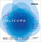 D'Addario Helicore Orchestral Bass Single A String, 1/4 Scale, Medium Tension