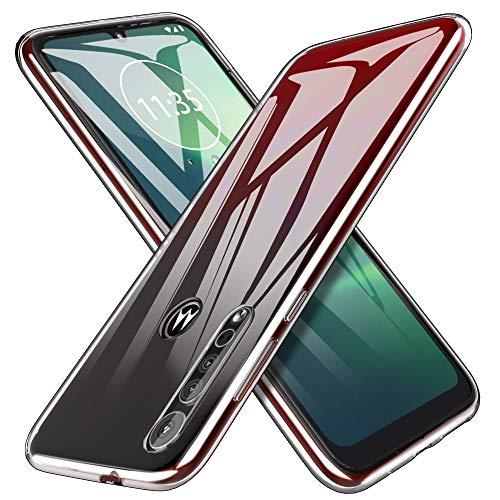 iBetter für Moto G8 Plus Hülle, Soft TPU Ultra Thin Cover Handyhülle Stoßfest [Anti-Scratch] [Slim-Fit] Shock Absorption Hülle passt für Moto G8 Plus Smartphone, klar