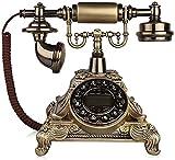 KMILE Telefonkultur Modell Home Schreibtisch Dekoration Gestaltetes altmodisches Telefon,...