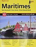 Maritime Atlantic Canada Back Road Atlas