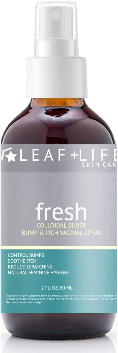 Colloidal Silver Bump and Vaginal Ranking TOP19 Store Spray Itch
