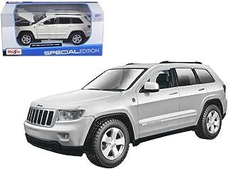 New 1:24 W/B SPECIAL EDITION - WHITE JEEP GRAND CHEROKEE LAREDO Diecast Model Car By Maisto