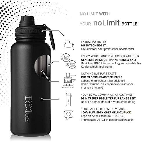 720°DGREE Cantimploras y botellas de agua