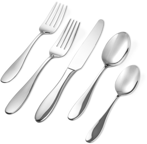 Lutecia 20-Piece Flatware Place Setting | Williams Sonoma