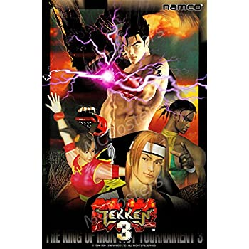 Amazon Com Primeposter Tekken 3 Arcade Poster Glossy Finish Made In Usa Nvg101 16 X 24 41cm X 61cm Posters Prints