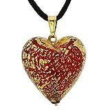 GlassOfVenice Colgante de cristal de Murano de Ca D'Oro para mujer Rojo