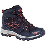 The North Face W HH Fp Mid GTX (EU), Botas de Senderismo Mujer, Azul (Peacoat Navy/Radiant Orng Gy3), 37.5