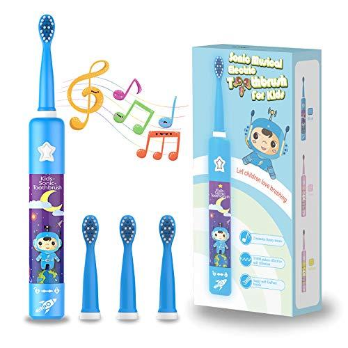Cepillo de dientes eléctrico musical...
