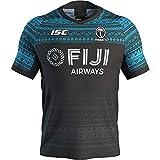DDZY Jersey de Rugby, 2020 Fiji Nuevo hogar y lejos, Deportes de Verano Transpirable Camisa Casual Camiseta de fútbol Camisa de Polo,7saway,XXL