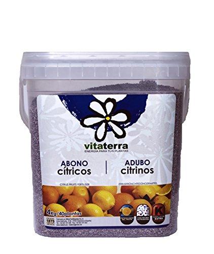 Vitaterra Abono Cítricos 4 kg, 28314