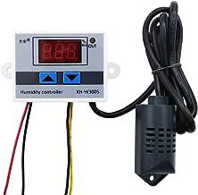 DollaTek DC 12V Multifuncional Práctico de Alta precisión Controlador de Humedad Digital Interruptor higrómetro 0~99% HR Higrostato con Sensor