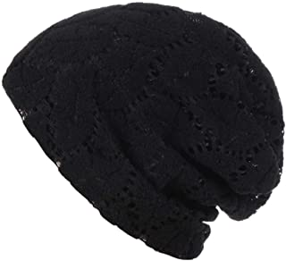 Highpot Womens Cotton Beanie Lace Turban Sleep Cap Chemo Hats Fshion Slouchy Hat