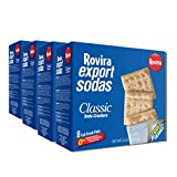Rovira Export Sodas Fancy Crackers 8 Oz (Pack of 4)