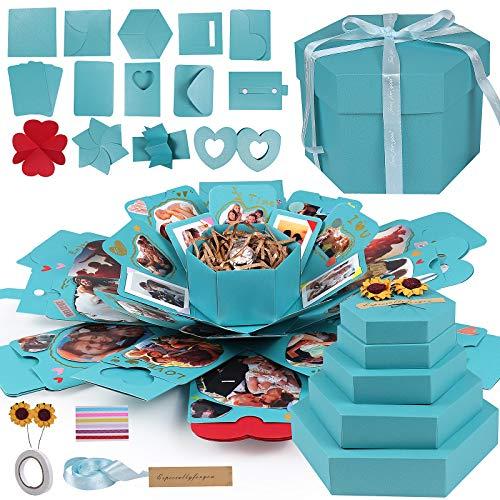 RECUTMS Boite Cadeau Creative,Boîte Surprise Explosion DIY...