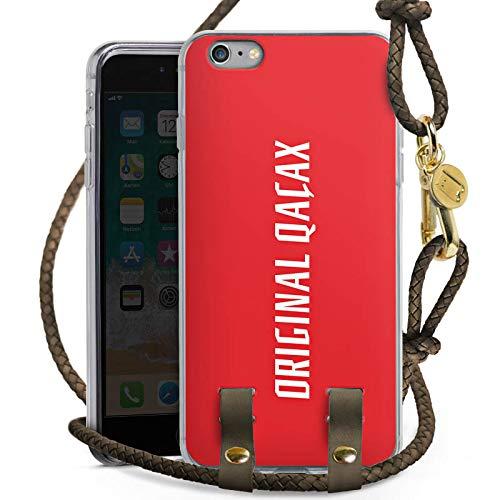 DeinDesign Apple iPhone 6s Plus Carry Case Hülle zum Umhängen Handyhülle mit Kette Xatar Fan Article Merchandise Fanartikel Merchandise