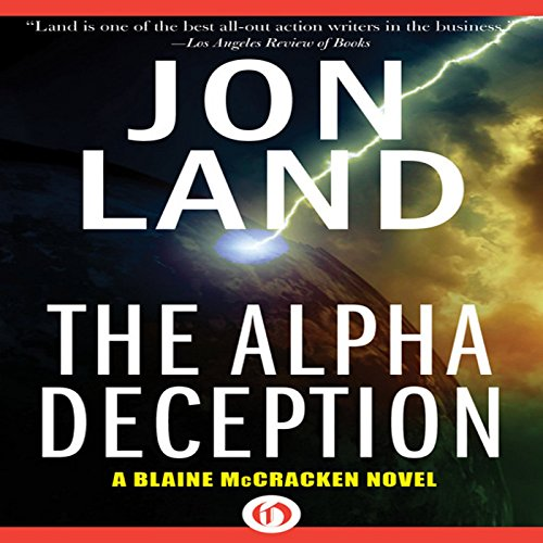 The Alpha Deception audiobook cover art