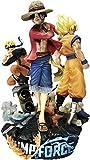 18cm Juego Jump Force One Piece Naruto Dragon Ball PVC Figura Figura Anime Juego Luffy Goku Naruto Figurine Toy Diorama