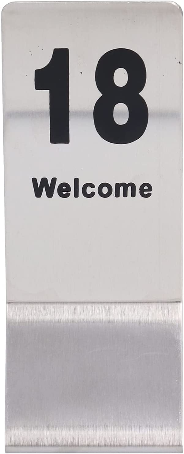 Table Number Card Cheap sale Max 81% OFF 10PCS Cards Digit Double‑sided