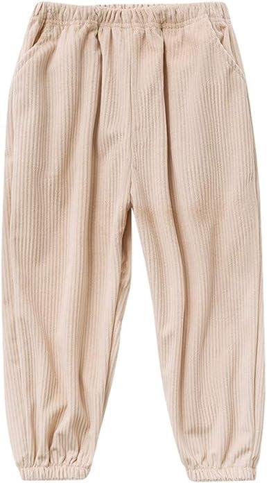 Amazon Com Pantalones De Pana Para Ninos Y Ninas De 3 A 10 Anos Clothing