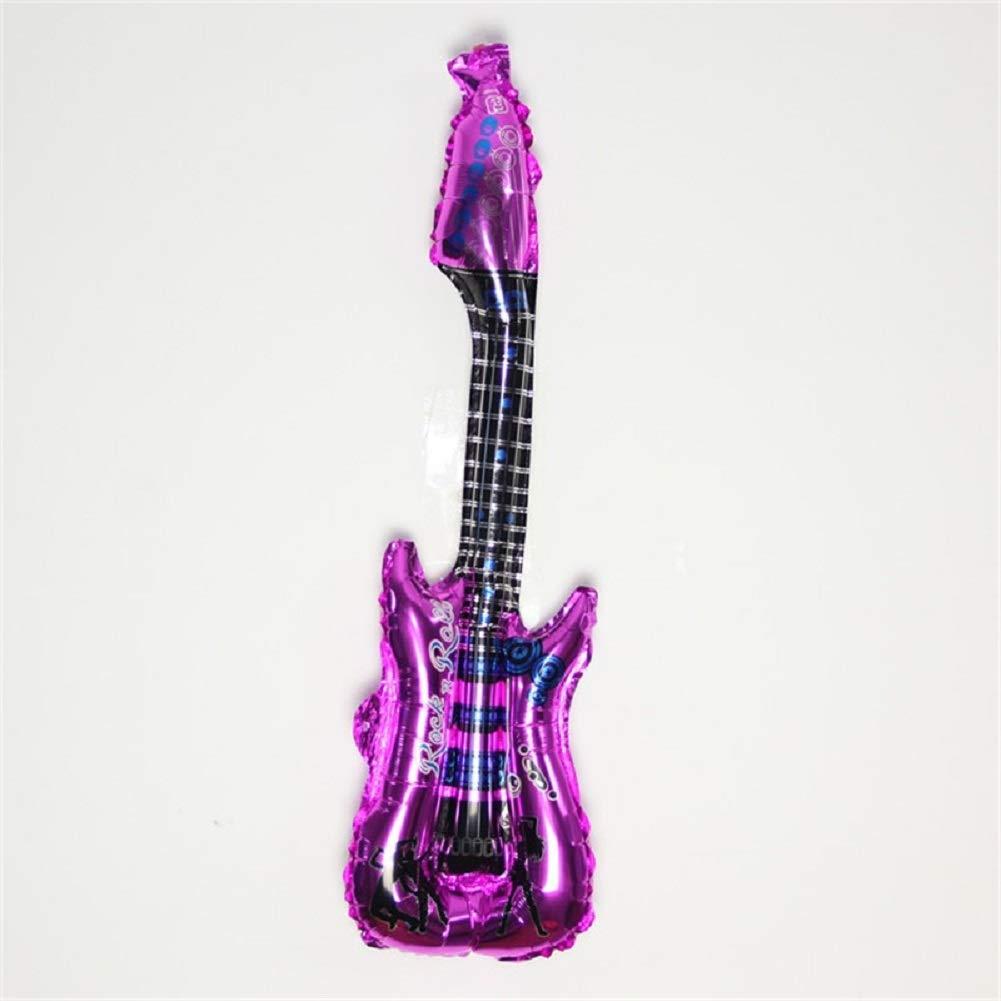 4 globos de papel de aluminio para guitarra, juguetes clásicos ...