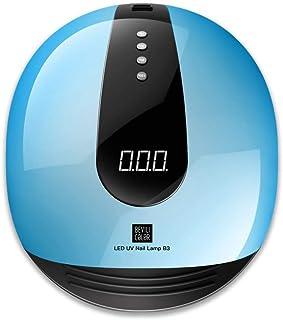 ZHTY Secador de uñas Inteligente automático sin Dolor 80W máquina de fototerapia de uñas de Secado rápido lámpara led secador de lámpara de uñas para Hacer esmaltes de Goma horneado a Mano