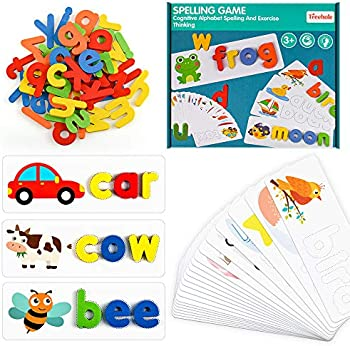 Topkinwin Alphabet Spelling Games Early Learning Toys