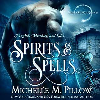 Spirits and Spells audiobook cover art