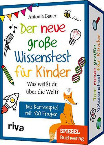 Der neue große Wissenstest für Kinder: Das Kartenspiel mit 100 Fragen