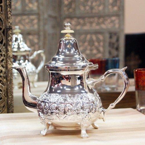 Kleine Marokkaanse theepot