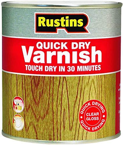 Rustins Quick Dry lack glänsande 1 liter klar