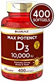 Non-GMO; Free of Gluten, Wheat, Yeast, Milk, Lactose and Soy Vitamin D promotes calcium absorption and supports healthy immune function* This supplement now contains 250 micrograms (mcg) per softgel Vitamin D3 is also known as cholecalciferol Our eas...