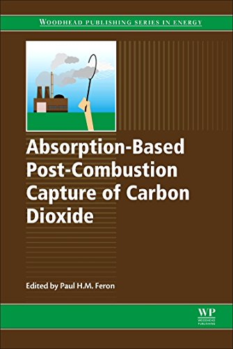 Absorption-Based Post-Combustion Capture of Carbon Dioxide (Woodhead Publishing Series in Energy, Band 101)