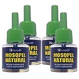 Novosynth Mosqpel Lemon Eucalyptus Oil Based Mosquito Vaporizer, 4 Unit x 45 ml