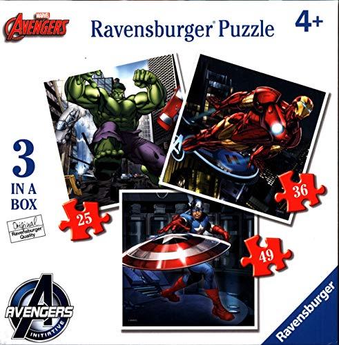 Avengers – Puzzle Progressif (Ravensburger 07004 6)
