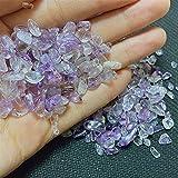 Decoración hogareña 100 g Amethys Stones Natural Crystal Mineral Quartz para Regalos Kawaii DIY DIY Decoración de la Sala Accesorios Calmante de Piedra Acuario (Color : Amethys)