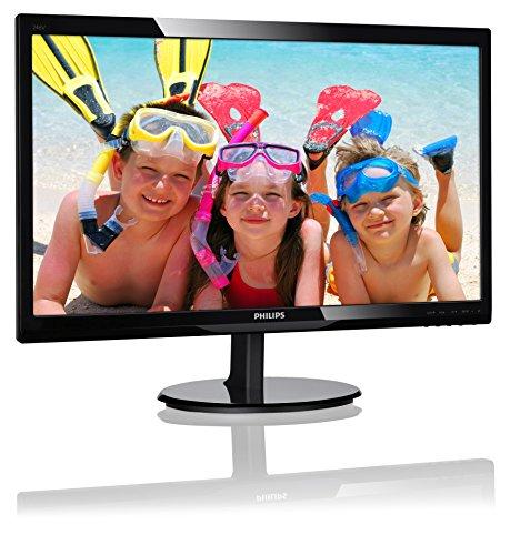 Philips 223V5LSB - 22 Zoll FHD Monitor (1920x1080, 60 Hz, VGA, DVI) schwarz