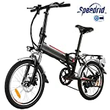 Speedrid Elektrofahrrad E Bike 20/26/27.5 Zoll Reifen Elektrisches Fahrrad mit 36V 8Ah/12.5Ah Lithium-Batterie, 250W Stabile höhe Geschwindigkeit Motor und Professionell Gangs