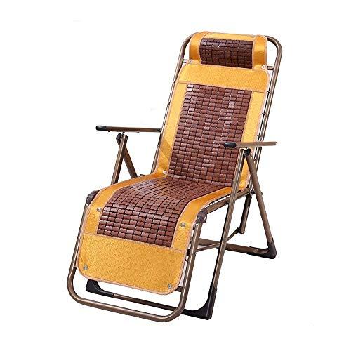Chaise longue reclinabili Chaise longue, sedia a sdraio pieghevole a gravità zero per prato da spiaggia all'aperto Camping Lettino Lettino da pranzo al coperto Pausa pranzo con braccioli per massaggi