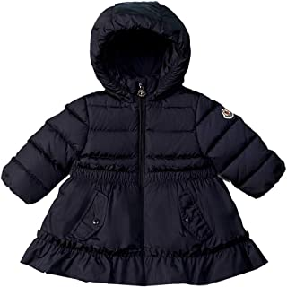 MONCLER 9773Z Piumino Bimba Girl VAIREA Blue Jacket