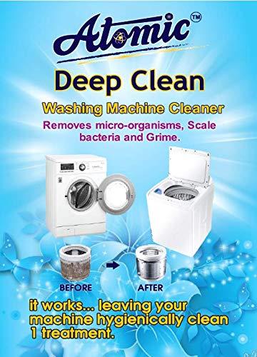 Atomic Washing Machine Tub Clean Powder 150Gm X5