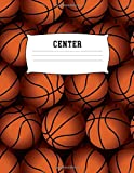 Center: Basketball 100 + Fun Activities | Ready to Play Paper Games & Blank Storybook Pages for Kids | Hangman, Tic Tac Toe, Four in a Row, Sea Battle ... Cover | Creative Road Trip Entertainment