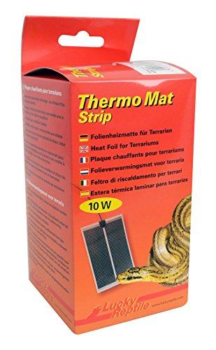 Lucky Reptile HTMS-10 Thermo Mat Strip 10 W, Heizmatte für Terrarien